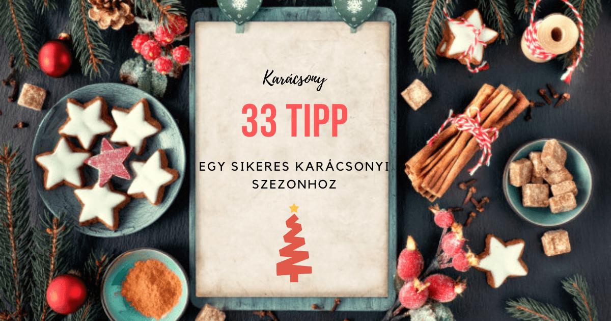 33 online marketing tipp karácsonyra