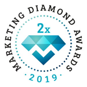 Kétszeres Marketing Diamond díj 2019