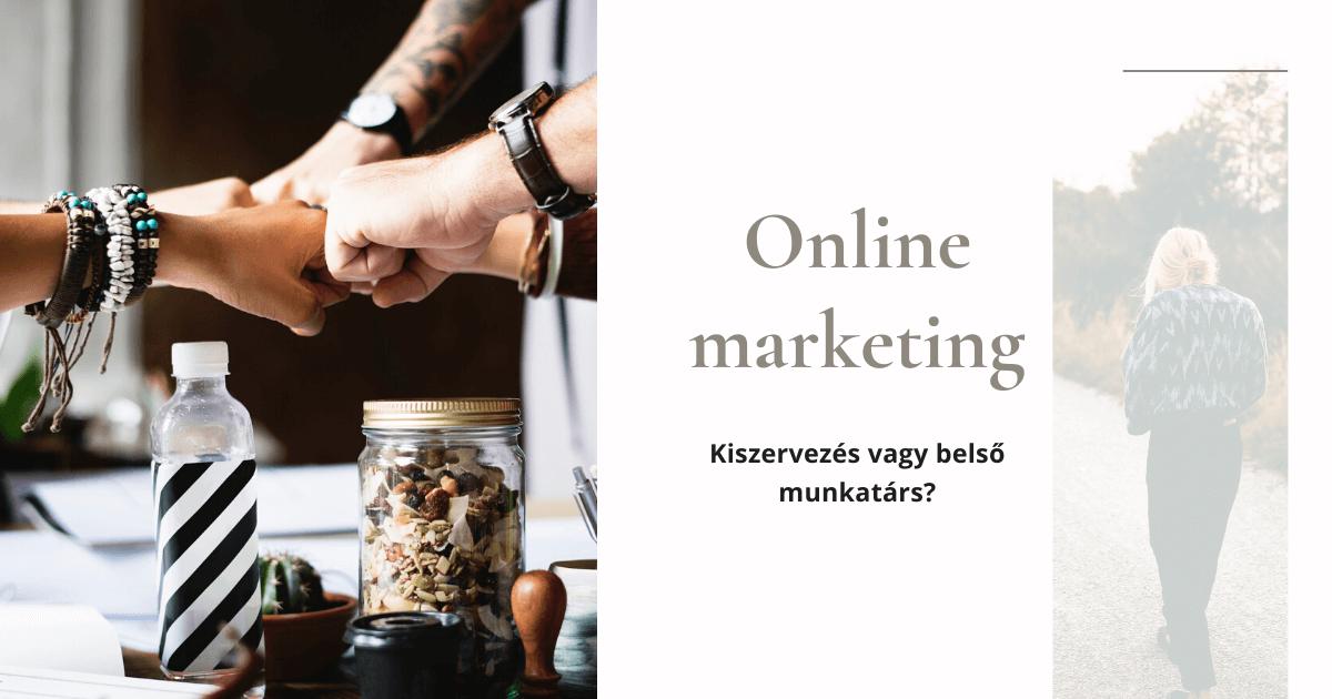 Online marketing stratégia