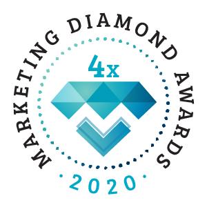 Kétszeres Marketing Diamond díj 2019